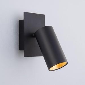 Спот Eurosvet Fleur 20066/1 LED черный/золото
