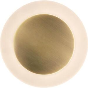 Настенный светодиодный светильник Eurosvet Around 40140/1 LED бронза