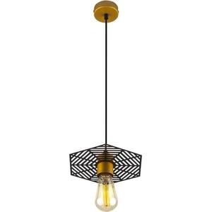 Подвесной светильник Eurosvet Creto 50167/1 бронза/черный