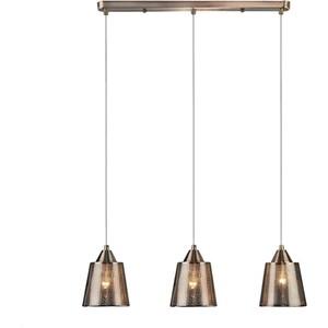 Подвесной светильник Eurosvet Ollie 50016/3 античная бронза подвесной светильник globo new 6905 3 бронза