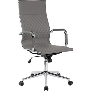 Кресло Riva Chair RCH 6016-1 S серый (Q-022)