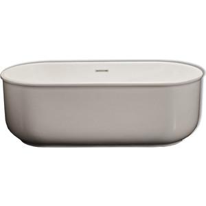Акриловая ванна BelBagno 170x80 слив-перелив хром (BB401-1700-800)