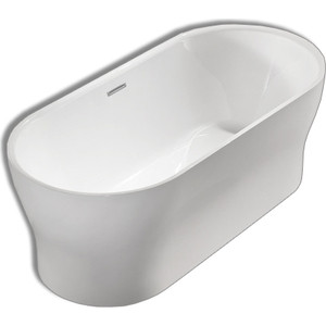 Акриловая ванна BelBagno 170x80 слив-перелив хром (BB405-1700-800)