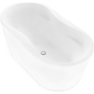 Акриловая ванна BelBagno 170x80 слив-перелив хром (BB407-1700-800)
