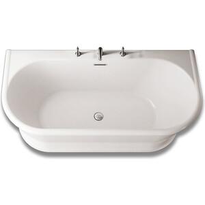 Акриловая ванна BelBagno 170x80 слив-перелив хром (BB408-1700-800)