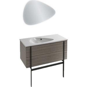 Мебель для ванной Jacob Delafon Nouvelle Vague 100 фактурный дуб, подвесная фото