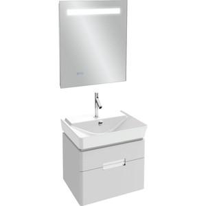Мебель для ванной Jacob Delafon Reve 60 белый блестящий, 2 ящика поддон для балконного ящика ingreen цвет белый длина 60 см