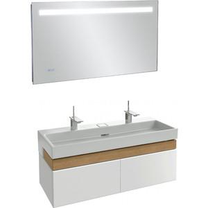 Мебель для ванной Jacob Delafon Terrace 120 белый блестящий фото