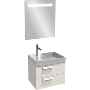 Мебель для ванной Jacob Delafon Rythmik 60 белый блестящий, 2 ящика поддон для балконного ящика ingreen цвет белый длина 60 см