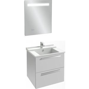 Мебель для ванной Jacob Delafon Struktura 60 белый, 2 ящика