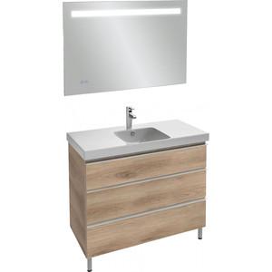 Мебель для ванной Jacob Delafon Odeon Up 105 квебекский дуб, 3 ящика