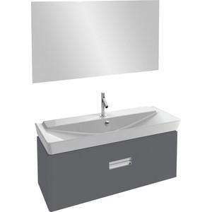 Мебель для ванной Jacob Delafon Reve 120 серый антрацит