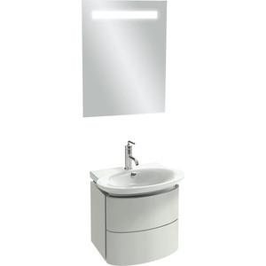Мебель для ванной Jacob Delafon Presquile 60 белый блестящий, 2 ящика поддон для балконного ящика ingreen цвет белый длина 60 см
