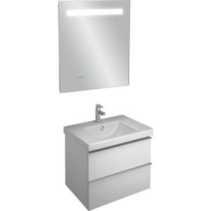 Мебель для ванной Jacob Delafon Odeon Up 60 белый, 2 ящика поддон для балконного ящика ingreen цвет белый длина 60 см