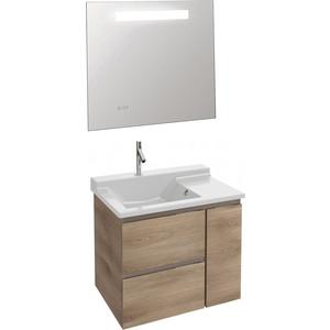 Мебель для ванной Jacob Delafon Soprano 80 квебекский дуб, 2 ящика, 1 внутренний ящик