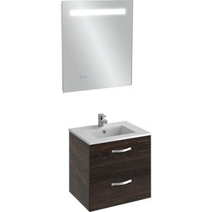 Мебель для ванной Jacob Delafon Ola 60 темный дуб фото