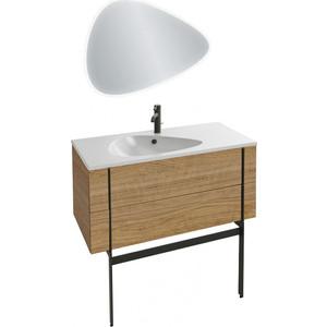 Мебель для ванной Jacob Delafon Nouvelle Vague 100 ореховое дерево фото