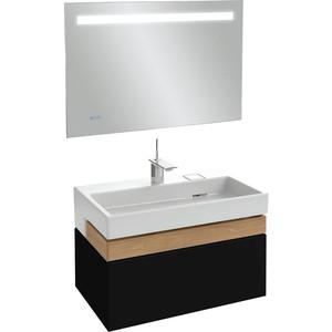 Мебель для ванной Jacob Delafon Terrace 100 черный лак фото