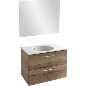 Мебель для ванной Jacob Delafon Odeon Rive Gauche 80 дуб табак