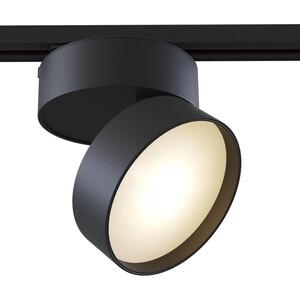 Трековый светодиодный светильник Maytoni TR007-1-18W3K-B трековый светодиодный светильник donolux dl18931 30w b 4000k