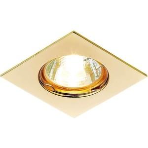 Встраиваемый светильник Ambrella light 866A GD встраиваемый светильник ambrella light 611a gd gd