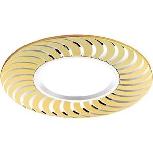 цена на Встраиваемый светильник Ambrella light A720 G/AL