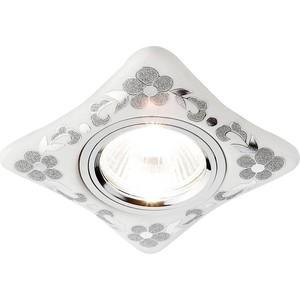 Встраиваемый светильник Ambrella light D2065 W/CH встраиваемый светодиодный светильник ambrella light s305 ch w