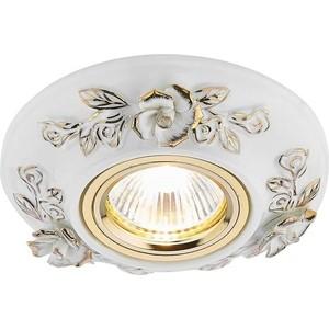 Встраиваемый светильник Ambrella light D5503 W/GD встраиваемый светильник ambrella light 611a gd gd