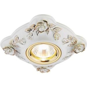 Встраиваемый светильник Ambrella light D5504 W/GD встраиваемый светильник ambrella light 611a gd gd