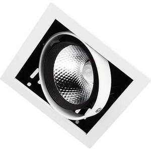 Встраиваемый светодиодный светильник Ambrella light T811 BK/CH 12W 4200K встраиваемый светодиодный светильник elektrostandard dlr006 12w 4200k ps n 4690389084782