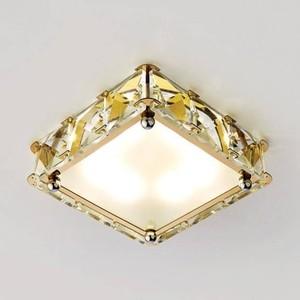 Встраиваемый светодиодный светильник Ambrella light S50 G/W 4W 4200K LED