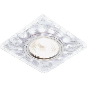 Встраиваемый светодиодный светильник Ambrella light S234 W/CH/WH встраиваемый светодиодный светильник ambrella light s305 ch w