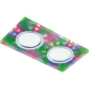 Встраиваемый светодиодный светильник Ambrella light S234/2 W/CH/M