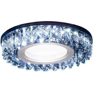 Встраиваемый светодиодный светильник Ambrella light S255 BK цена и фото