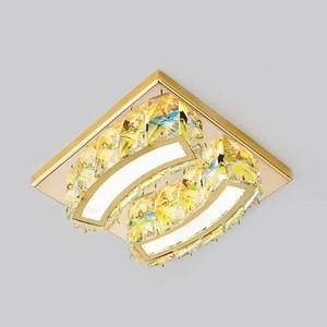 Встраиваемый светодиодный светильник Ambrella light S70 PR/G 4W 4200K LED лампочка ambrella light точка 8w gu5 3 4200k холодный свет 8 вт светодиодная