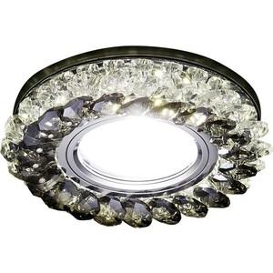 Встраиваемый светодиодный светильник Ambrella light S701 CL/GD/WH встраиваемый светодиодный светильник ambrella light s701 cl ch cld