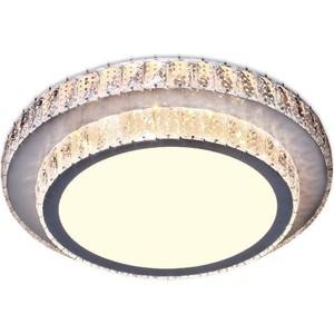 Потолочный светодиодный светильник Ambrella light F94 CH/CL 48W D490 встраиваемый светильник ambrella light g201 cl ch