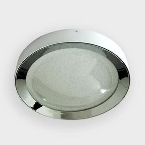 Потолочный светодиодный светильник Ambrella light FS1212 WH/CH 64W+23W D500