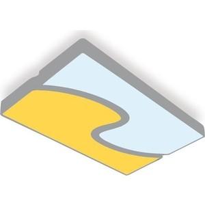 Потолочный светодиодный светильник Ambrella light FP2402 WH/BK 180W D680*415