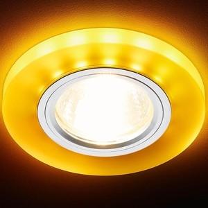 Встраиваемый светодиодный светильник Ambrella light S214 WH/CH/YL встраиваемый светодиодный светильник ambrella light s305 ch w
