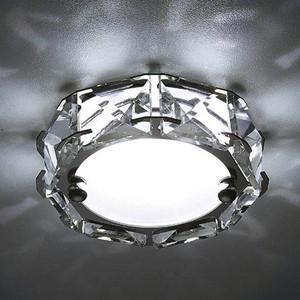 Встраиваемый светодиодный светильник Ambrella light S40 CH/W 4W 4200K Led лампочка ambrella light точка 8w gu5 3 4200k холодный свет 8 вт светодиодная