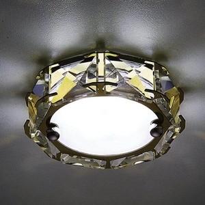 Встраиваемый светодиодный светильник Ambrella light S40 G/W 4W 4200K Led