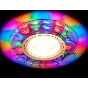 Встраиваемый светодиодный светильник Ambrella light S231 W/G/M