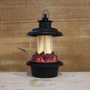 Светодиодный фонарь Light с имитацией живого огня 2C тепл. белый B3581