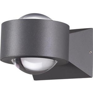 Уличный настенный светодиодный светильник Novotech 358154 уличный настенный светодиодный светильник novotech kaimas 357402