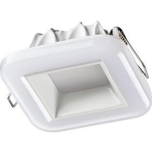 Встраиваемый светодиодный светильник Novotech 358282 встраиваемый светодиодный светильник novotech 357502