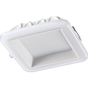 Встраиваемый светодиодный светильник Novotech 358284 встраиваемый светодиодный светильник novotech 357502