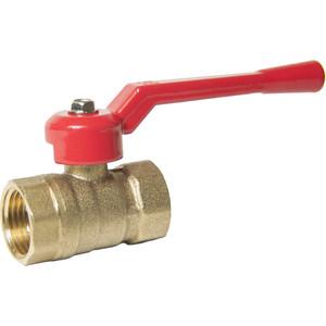 Кран шаровый Оптима для воды 1 1/4 гайка/гайка, рычаг (SOFFH114) кран шаровый стм стандарт для воды 1 1 4 гайка гайка рычаг cwffh114