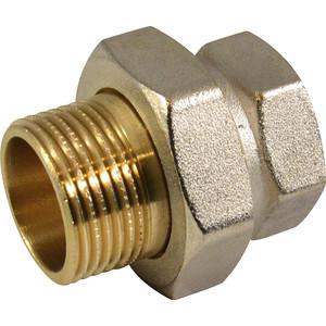 Соединитель СТМ с накидной гайкой, прямой 2 гайка/штуцер (CRAS0002)