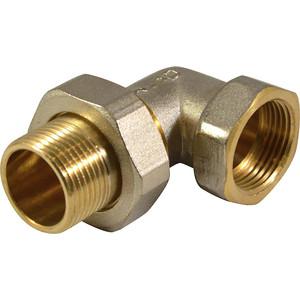 Соединитель СТМ с накидной гайкой, угловой 1 гайка/штуцер (CRAE0001)